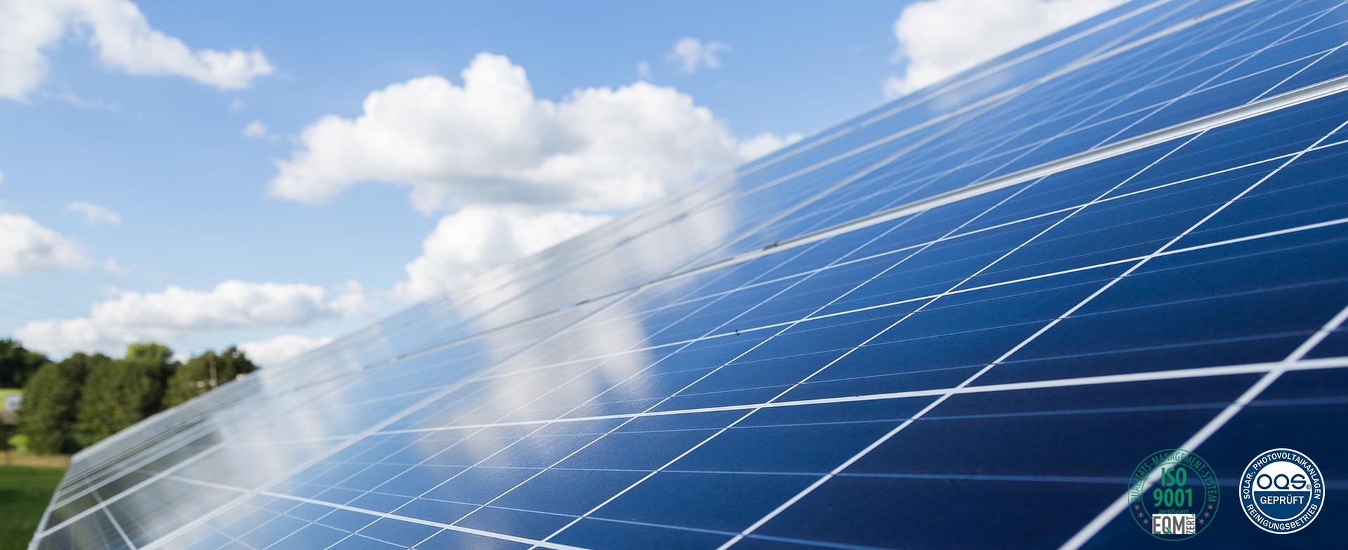 Solar & Photovoltaik Reinigung
